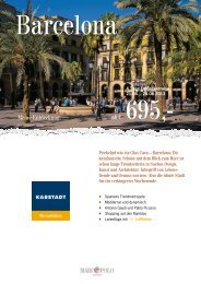 Flyer zum Download - Karstadt Reisen