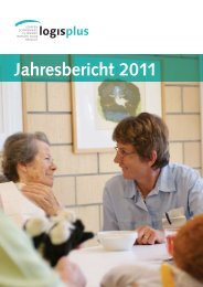 Jahresbericht 2011 - Logis plus AG