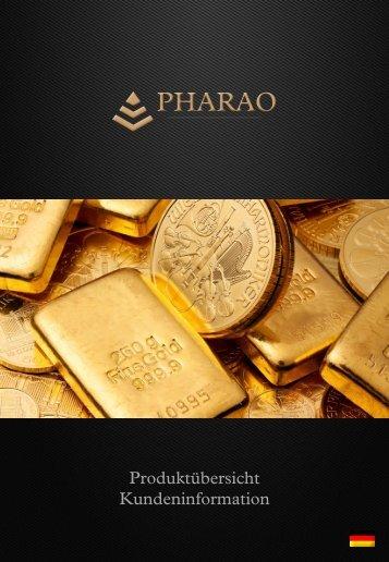 PHARAO Gold - Produkt