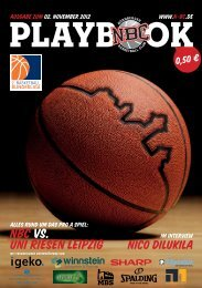 PLAYBOOk - Nürnberger Basketball Club
