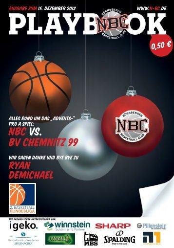 PLAyBOOk - Nürnberger Basketball Club
