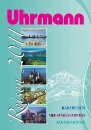 Katalog 2011:Katalog 2008 - Busunternehmen Uhrmann Reisen ...