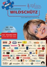 NEU - Musikvertrieb Wildschütz