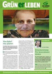 Grüne Zeitung Dezember 2010 - Die Grünen Vorchdorf