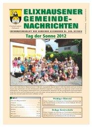 Juli - 249 - Gemeinde Elixhausen