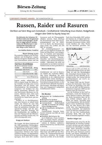 Russen, Raider und Rasuren