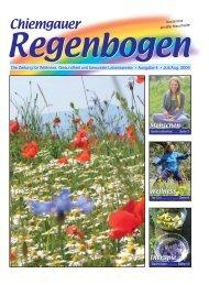 CRB4/06-16S. neu - Chiemgauer Regenbogen