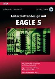 Leiterplattendesign mit EAGLE 5 - Mitp