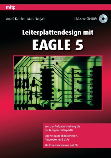 Leiterplattendesign mit EAGLE 5 - Mitp