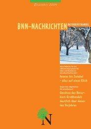 BNN-NACHRICHTENNATURKOSTHANDEL