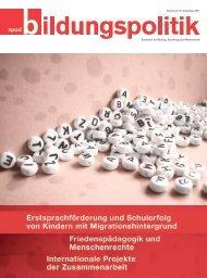 Zeitschrift für Bildung, Erziehung und Wissenschaft Nummer 174 ...