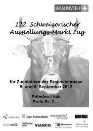 Rangliste ZM Zug 2012