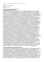 Heimprogramm Resultate - EASV