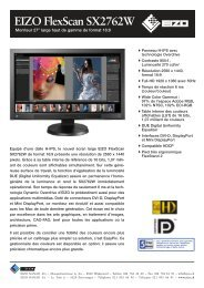 EIZO FlexScan SX2762W - GraphicArt AG