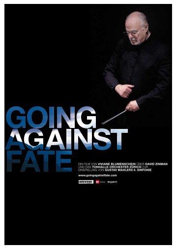 pressebooklet (deutsch) - going against fate