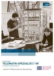 tElEmatik-spEzialist - Schweizerische Technische Fachschule (STF)