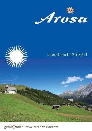Jahresbericht 2010/11 - Arosa