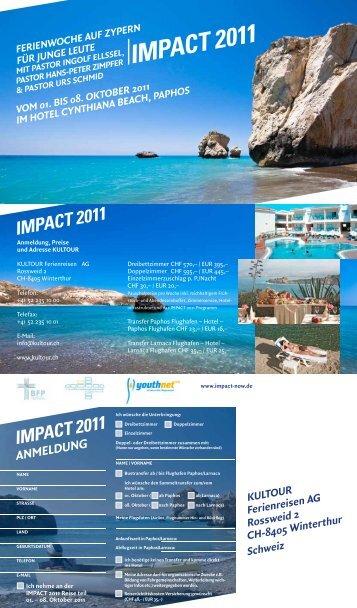 IMPACT 2011