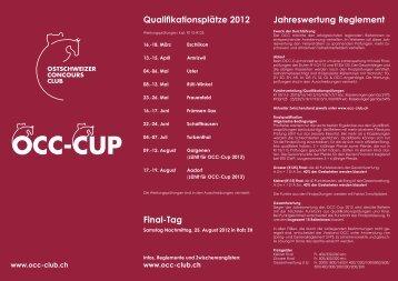Qualifikationsplätze 2012 Final-Tag Jahreswertung ... - occ-club