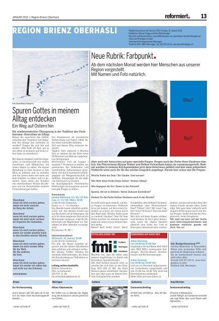 Ein herzergreifendes Frhstck - Jungfrau Zeitung