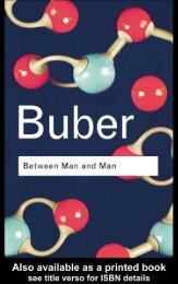 Buber, Between Man And Man (In) Bb.pdf - PolkFolk