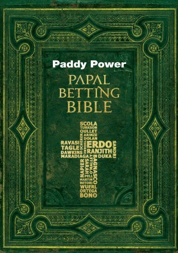Paddy-Power-Pope-Betting-Bible