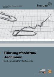Führungsfachfrau/ -fachmann - Bildungszentrum Wirtschaft Weinfelden