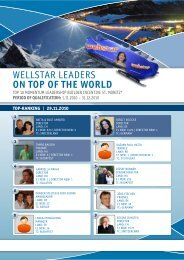 Wellstar leaders ON TOp Of The wOrld