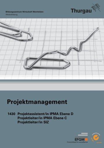Projektmanagement - Bildungszentrum Wirtschaft Weinfelden