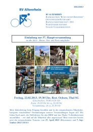 Der pdf-Download ist hier möglich. - RV Altenrhein