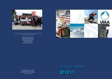 UIAA Annual Report 2011