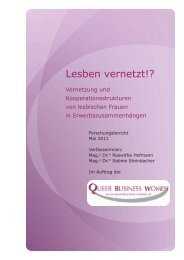 Forschungsbericht - Queer Business Women