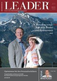 Artikel im LEADER Magazin (Mai 2012) - Mann-Tschu