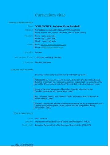 Curriculum vitae - Funglode