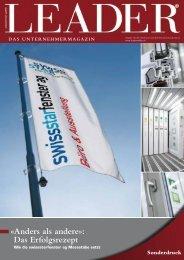 «Anders als andere»: Das Erfolgsrezept - Swiss Star Fenster