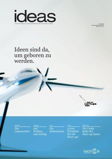 tech2b Start-up Magazin 2012