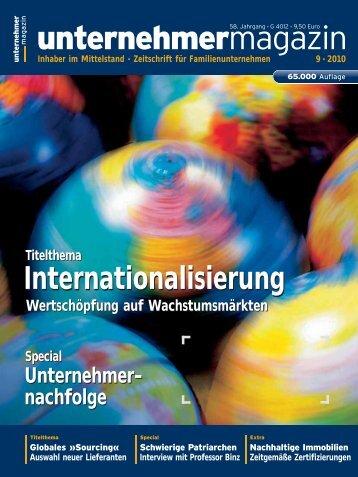unternehmermagazin - Eurofactor AG