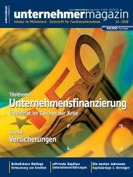unternehmermagazin - Hannover Finanz Austria