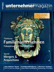 unternehmermagazin - Dr. Bernd LeMar