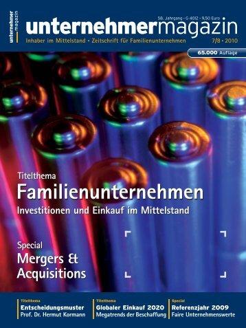 unternehmermagazin - Hymmen