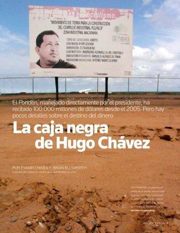 La caja negra de Hugo Chávez