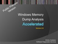 Windows Memory Dump Analysis
