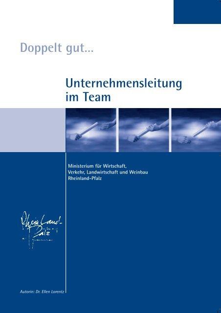 Unternehmensleitung im Team Doppelt gut… - Dr. Lorentz & Partner
