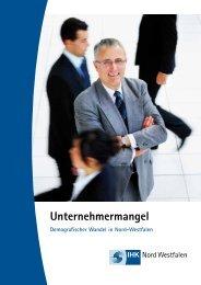 Unternehmermangel - und Handelskammer Nord Westfalen