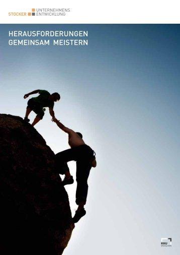 Broschüre PDF - Stocker Unternehmensentwicklung AG