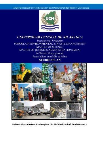 Universidad Central de Nicaragua International Programs