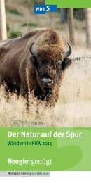 Wandern in NRW - WDR 5