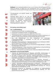 www www www ... eee ccc ooo 444 www aaa rrr ... - Eco World Styria