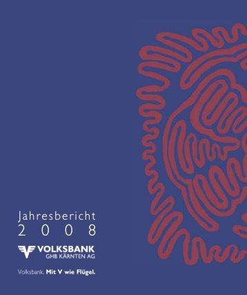 Jahresbericht - Volksbank GHB Kärnten AG