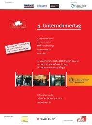 4. Unternehmertag - Convent